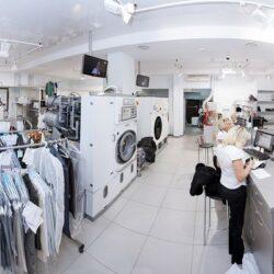 Стирка белья и одежды в прачечной – как это происходит