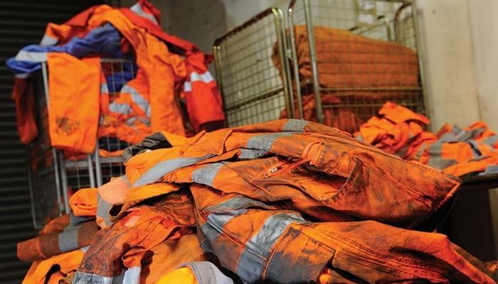 Стирка белья, одежды, рабочей одежды в прачечной Итальянская химчистка в Киеве